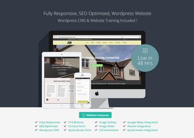 Design & Develop a Fully Responsive Wordpress Website