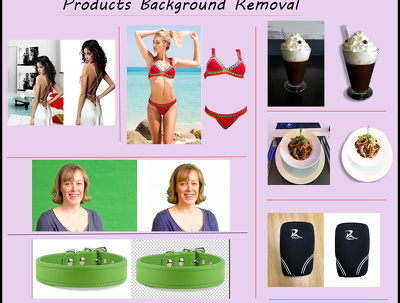 Remove background and retouch product photos(10-20 images)