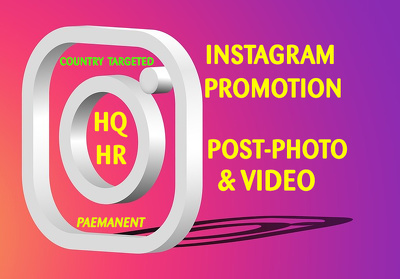 Professionally manage your Instagram Photo, Post or Videos