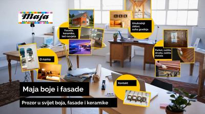 Create modern business presentation video intro promo