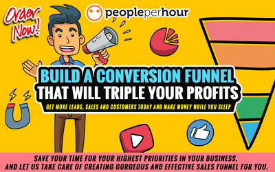 ✅ create Custom Sales & Marketing Funnels in ClickFunnels ⭐