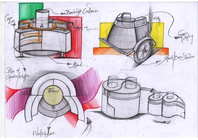 Help You Sketch And Illustrate Your Product Design Concepts
