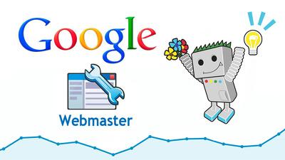 Setup google analytics and webmaster tools
