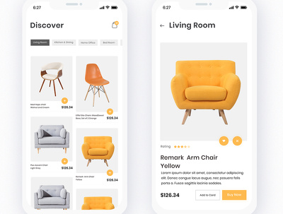 Develop for you Online Store E-commerce Exploration Application