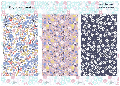Make your drawing or image into a print fabric design