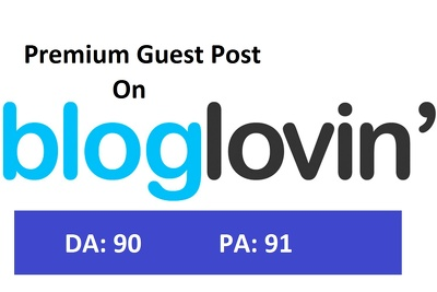 Write and publish your content on bloglovin