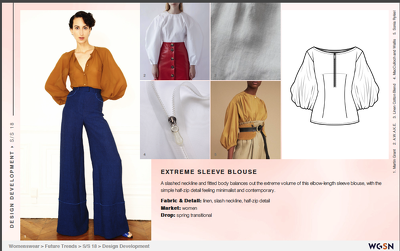 Provide  WGSN trend forecast packs for any season or pathway