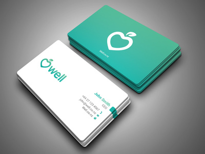 Design Two Side Business Card Professional and Print Ready