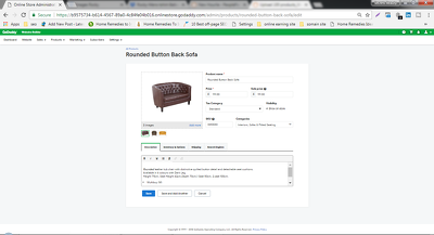 Upload 100 products on ecommerce Godaddy Site