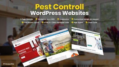 Create a WP based website for your PEST CONTROL Business