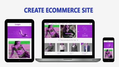 Design & develop eCommerce (woocommerce) site to use wordpress