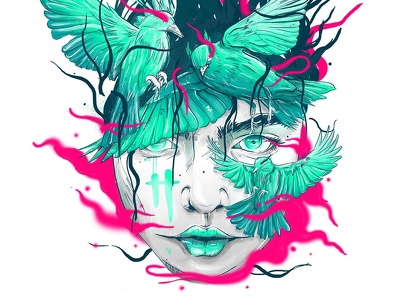 Create an unique artwork with amazing style