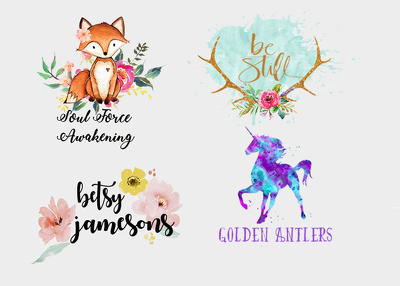 Design A Unique Water Color Logo