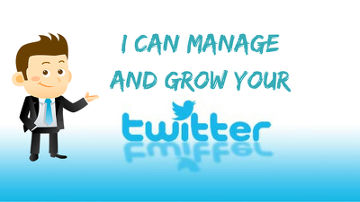 Professionally manage and grow your twitter account