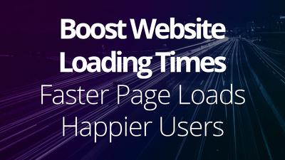 Make your website load faster