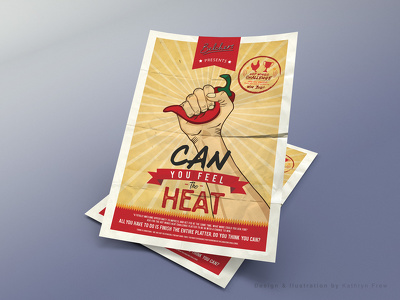Design a single sided flyer/advert or poster