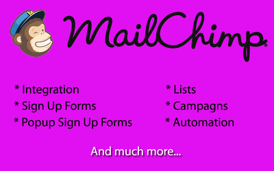 Integrate Your Website With Mailchimp Account