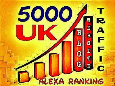 Drive 5000+ UK Webs or Blogs Traffic for Alexa Ranking