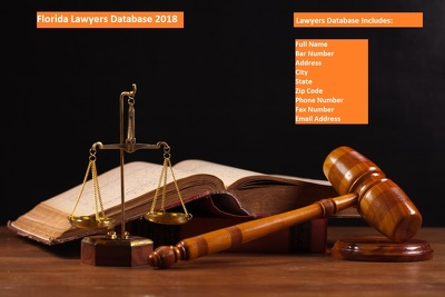 Provide Florida Lawyers 70000+ email database