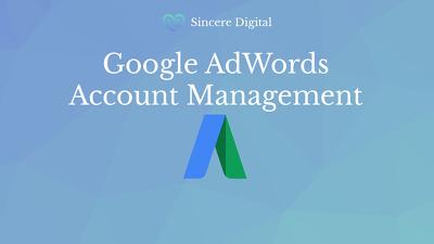 Google AdWords Account Management incl. Setup
