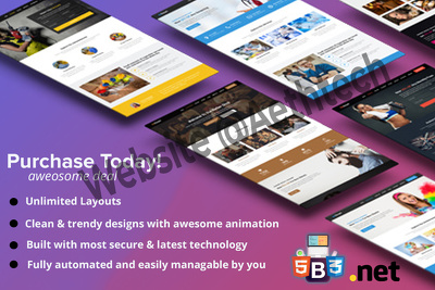 Develop beautiful, responsive,fast, SEO friendly custom website