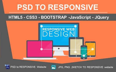 Develop a Professional Website using HTML, BootStrap, WordPress