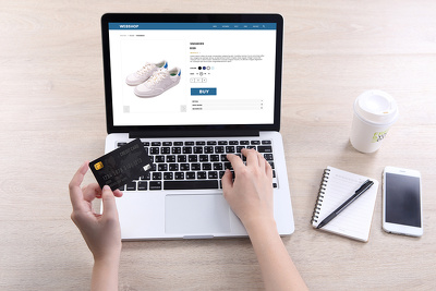 build a fully functional e-commerce website with paypal/stripe