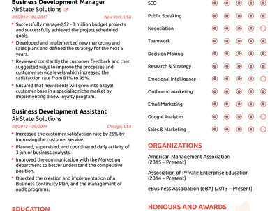 Recreate and rewrite your Resume and cover letter