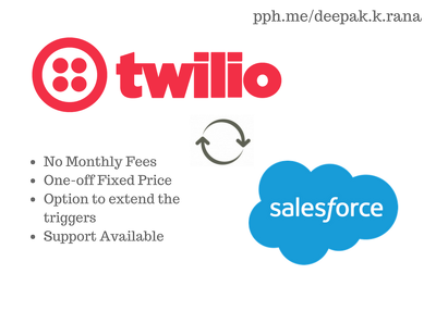 Twilio SMS integration to your Saleforce