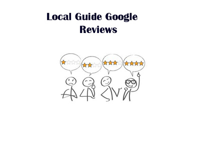 manually provide 3 local UK rating on google maps