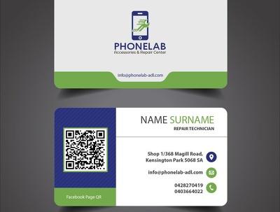 Design professional and unique business card