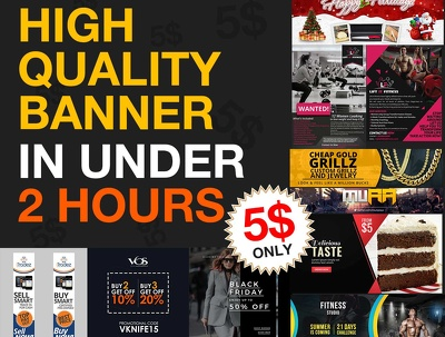 Make High Quality Banner In Only 2 Hours