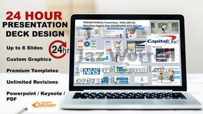 Design a PREMIUM 8 Slide Presentation in 24 HOURS