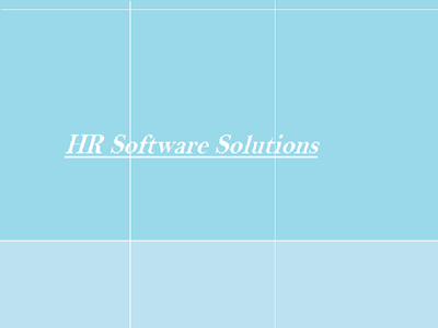 Develop hr management system