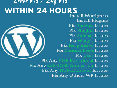 Fix/update/customization wordpress support 1 hour