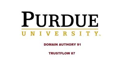 DOFOLLOW edu guest post on Purdue University - Purdue.edu DA 91