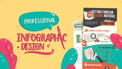 Design professional modern infographic