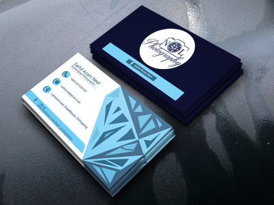 Design corporate and eye catching business card.