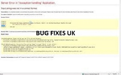 .Net Bug Fixes for web and destop
