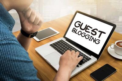 Place 20 unique guest blog posts on HIGH DA50 - DA94 websites
