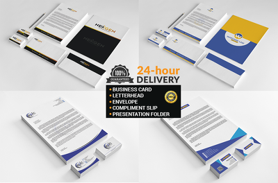 Do Amazing  STATIONERY Design For Your Business Within 24 hours