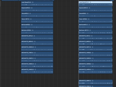 Create Gospel or Choral layered recording