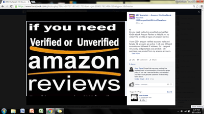Write two verified reviews for ebook or kindle on amazon