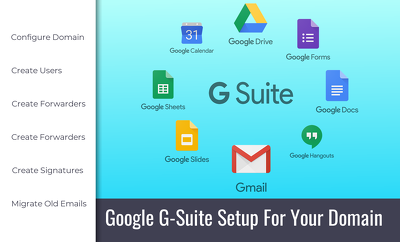 Set up Google G-Suite For Business on your domain
