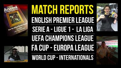 Write a 400-word football match report
