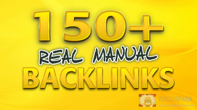 Create 150 manual SEO backlinks