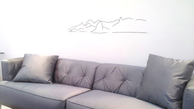 Want to have your landscape in wall decals?