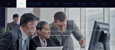 design professional responsive website for you with WordPress