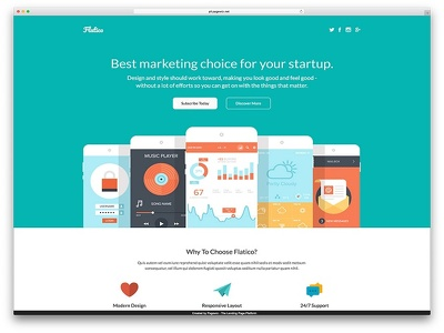 Create Responsive Email Templates and landing page