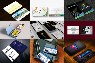 Professional business card+unlimited revision+all source files